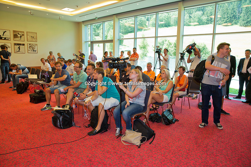 Austria, Kitzbuhel, Juli 16, 2015, Tennis, Davis Cup, Draw, <br /> Photo: Tennisimages/Henk Koster