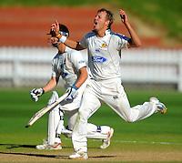 101126 Plunket Shield Cricket - Wellington v Otago