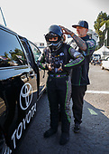 NHRA Mello Yello Drag Racing Series<br /> Auto Club NHRA Finals<br /> Auto Club Raceway at Pomona<br /> Pomona, CA USA<br /> Friday 10 November 2017 Alexis DeJoria, Patron, funny car, Toyota, Camry<br /> <br /> World Copyright: Mark Rebilas<br /> Rebilas Photo