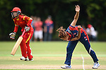 Sabnam Rai of Nepal in action during their ICC 2016 Women's World Cup Asia Qualifier match between China and Nepal  on 11 October 2016 at the Kowloon Cricket Club in Hong Kong, China. Photo by Marcio Machado / Power Sport Images