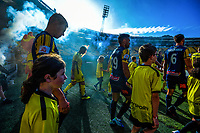 during the A-League football match between Wellington Phoenix and Central Coast Mariners at Westpac Stadium in Wellington, New Zealand on Saturday, 4 January 2020. Photo: Dave Lintott / lintottphoto.co.nz