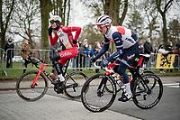 Quinn Simmons (USA/Trek - Segafredo)<br /> <br /> 105th Ronde van Vlaanderen 2021 (MEN1.UWT)<br /> <br /> 1 day race from Antwerp to Oudenaarde (BEL/264km) <br /> <br /> ©kramon