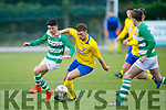 Action from Killorglin Afc v Listowel Celtic in the Dominos Pizza U17 Cup Final