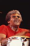 Don Alias, Jul 1980 : Don Alias performing at Tokyo.