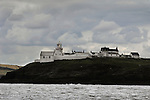 Roche's Point Lighthouse, Entrance to Cork Harbor, South Coast of Ireland