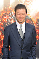 Tadanobu Asano at the film premiere of 'Battleship,' at the NOKIA Theatre at L.A. LIVE in Los Angeles, California. May, 10, 2012. ©mpi35/MediaPunch Inc.