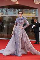 """VENICE, ITALY - SEPTEMBER 10: Svitlana Lavrynovych on the red carpet for the movie """"Un Autre Monde"""" during the 78th Venice International Film Festival on September 10, 2021 in Venice, Italy.<br /> CAP/GOL<br /> ©GOL/Capital Pictures"""