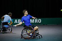 Rotterdam, The Netherlands, 11 Februari 2020, ABNAMRO World Tennis Tournament, Ahoy, <br /> Wheelchair tennis: Ruben Spaargaren (NED) / Jef Vandorpe. (BEL). <br /> Photo: www.tennisimages.com