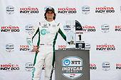 #88: Colton Herta, Andretti Harding Steinbrenner Autosport Honda, podium