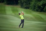 Golfers in action during the Pro-Am ahead the UBS Hong Kong Open golf tournament at the Fanling golf course on 21 October 2015 in Hong Kong, China. Photo by Xaume Olleros / Power Sport Images