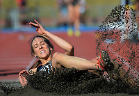 Anna Thomson competes in the elite women's long jump. 2021 Capital Classic athletics at Newtown Park in Wellington, New Zealand on Saturday, 20 February 2021. Photo: Dave Lintott / lintottphoto.co.nz