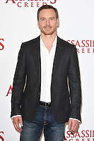 """Michael Fassbender<br /> at the """"Assassin's Creed"""" photocall in Claridges Hotel London.<br /> <br /> <br /> ©Ash Knotek  D3211  08/12/2016"""