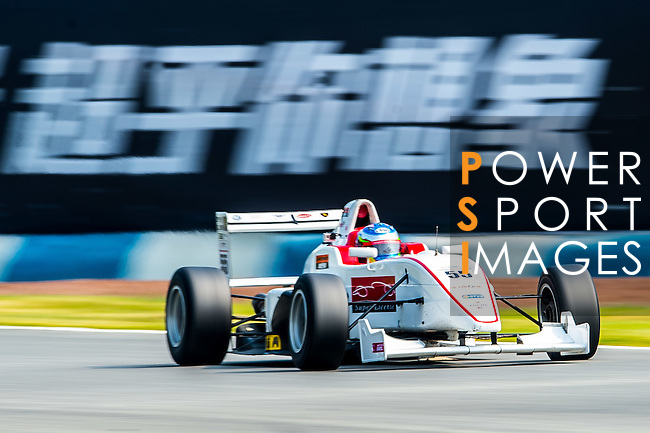 Takahashi Hata of Japan and Super License drives during Formula Masters China Series as part of the 2015 Pan Delta Super Racing Festival at Zhuhai International Circuit on September 18, 2015 in Zhuhai, China.  Photo by Aitor Alcalde / Power Sport Images