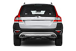 Straight rear view of a 2015 Volvo XC70 T5 5 Door Wagon stock images