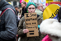 """19.03.2016 - """"Refugees Welcome Here - Stand up to racism, Islamophobia, anti-Semitism & fascism"""""""