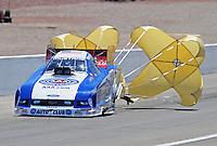 Apr. 5, 2009; Las Vegas, NV, USA: NHRA funny car driver Robert Hight during eliminations of the Summitracing.com Nationals at The Strip in Las Vegas. Mandatory Credit: Mark J. Rebilas-