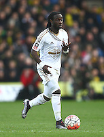 Marvin Emnes of Swansea   during the Emirates FA Cup 3rd Round between Oxford United v Swansea     played at Kassam Stadium  on 10th January 2016 in Oxford