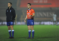 Referee Luke Pearce during the game<br /> <br /> Photographer Ian Cook/CameraSport<br /> <br /> 2020 Autumn Nations Cup - Wales v Georgia - Saturday 21st November 2020 - Parc y Scarlets - Llanelli - Wales<br /> <br /> World Copyright © 2020 CameraSport. All rights reserved. 43 Linden Ave. Countesthorpe. Leicester. England. LE8 5PG - Tel: +44 (0) 116 277 4147 - admin@camerasport.com - www.camerasport.com