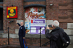 © Joel Goodman - 07973 332324 . 26/09/2016 . Liverpool , UK . Progress fringe venue outside the conference at a venue that is usually Liverpool Comedy Central . The second day of the Labour Party Conference at the ACC Liverpool . Photo credit : Joel Goodman