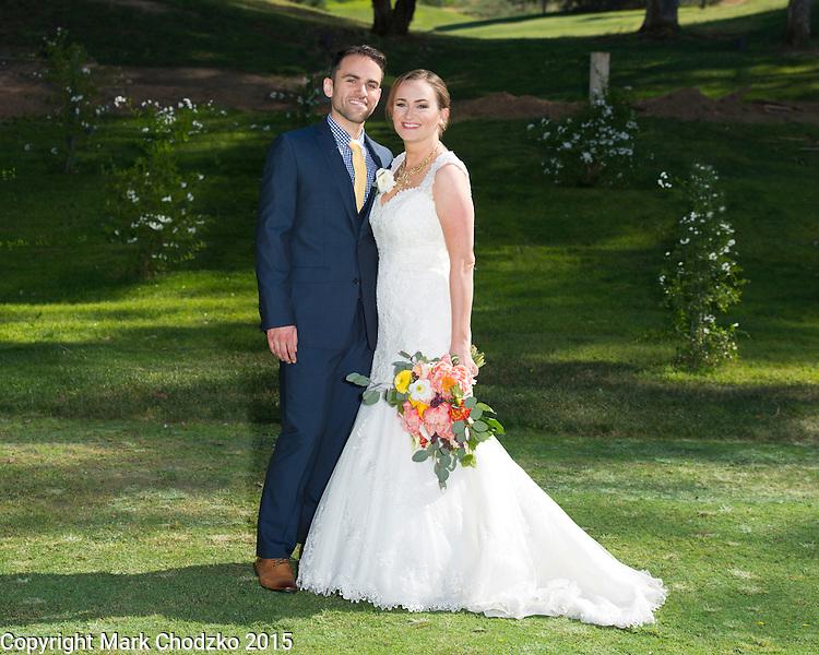 Lauren and Josh Carlton wedding day.