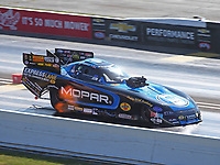 Sep 2, 2017; Clermont, IN, USA; NHRA funny car driver Matt Hagan during qualifying for the US Nationals at Lucas Oil Raceway. Mandatory Credit: Mark J. Rebilas-USA TODAY Sports