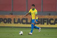 13th October 2020; National Stadium of Peru, Lima, Peru; FIFA World Cup 2022 qualifying; Peru versus Brazil; Casemiro of Brazil
