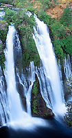 920000010 panoramic view of burney falls the main waterfall in mcarthur burney state park in northern california