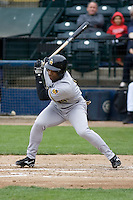 June 1, 2008: Salt Lake Bees' Chris Walker at-bat against the Tacoma Rainiers at Cheney Stadium in Tacoma, Washington.