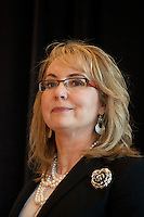 Women Lead Luncheon with Gabrielle Giffords, Nancy Pelosi, Katherine Clark and Carole King, a fundraiser for the Democratic Congressional Campaign Committee at the Intercontinental Hotel Boston MA June 6, 2016
