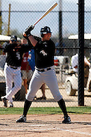 Mark Fleisher  -  Chicago White Sox - 2009 spring training.Photo by:  Bill Mitchell/Four Seam Images