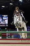 Laura Kraut, American ridder, on Cedric, second round