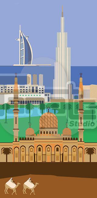 Tourist attractions of Dubai