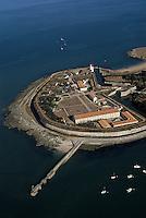 Europe/France/Poitou-Charentes/17/Charente-Maritime/Ile d'Aix: Vue aérienne de la citadelle