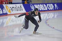 SPEEDSKATING: Calgary, The Olympic Oval, 07-02-2020, ISU World Cup Speed Skating, 500m Men Division B, Kimani Griffin (USA), ©foto Martin de Jong