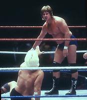 Roddy Piper vs Ric Flair, 1989, Photo By John Barrett/PHOTOlink
