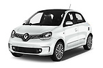 2019 Renault Twingo Edition One + 5 Door Hatchback angular front stock photos of front three quarter view