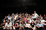 `Podemos´ members during the political party team presentation for the Spanish General Elections in Madrid, Spain. July 16, 2015. (ALTERPHOTOS/Victor Blanco)