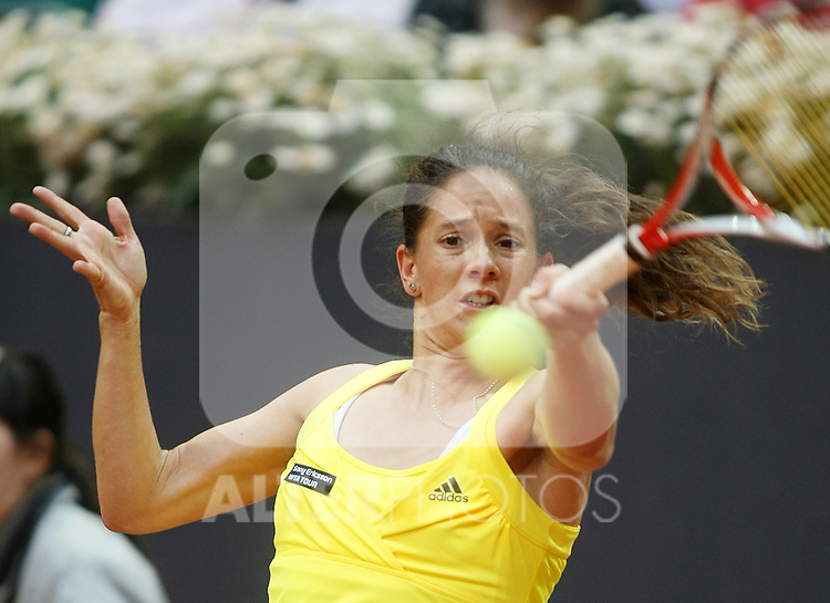 Switzerland's Patty Schnyder during his Madrid Open quarter final match.May 15 2009.(ALTERPHOTOS/Acero).