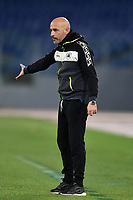 Vincenzo Italiano, coach of Spezia, during the Coppa Italia final eight football match between AS Roma and AC Spezia at Olimpico stadium in Roma (Italy), Jannuary 19th, 2021. Photo Antonietta Baldassarre / Insidefoto