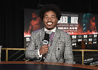LAS VEGAS - NOVEMBER 20: Shawn Porter at the press conference for the November 23 fight on the Fox Sports PBC Pay-Per-View fight night on September 20, 2019 in. Las Vegas, Nevada. (Photo by Scott Kirkland/Fox Sports/PictureGroup)