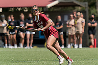 NEWTON, MA - MAY 16: Jen Rodzewich #46 of Temple University looks to pass during NCAA Division I Women's Lacrosse Tournament second round game between Temple University and Boston College at Newton Campus Lacrosse Field on May 16, 2021 in Newton, Massachusetts.