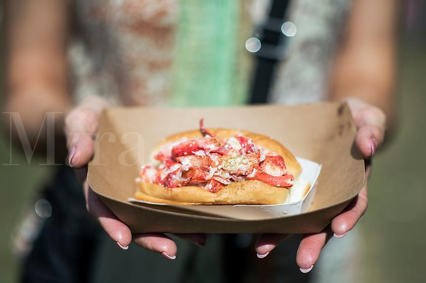 Lobster roll.
