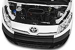 Car Stock 2013 Toyota PROACE COMFORT 5 Door Combi Engine high angle detail view