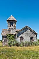 Abandoned church, Port Norris, New Jersey, NJ, USA