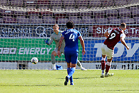 5th September 2020; PTS Academy Stadium, Northampton, East Midlands, England; English Football League Cup, Carabao Cup, Northampton Town versus Cardiff City; Harry Smith of Northampton Town scores from the penalty spot for 1-0 in minute 33