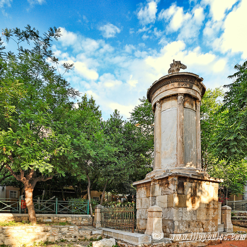 The Monument of Lysikrates (334 B.C.), Greece