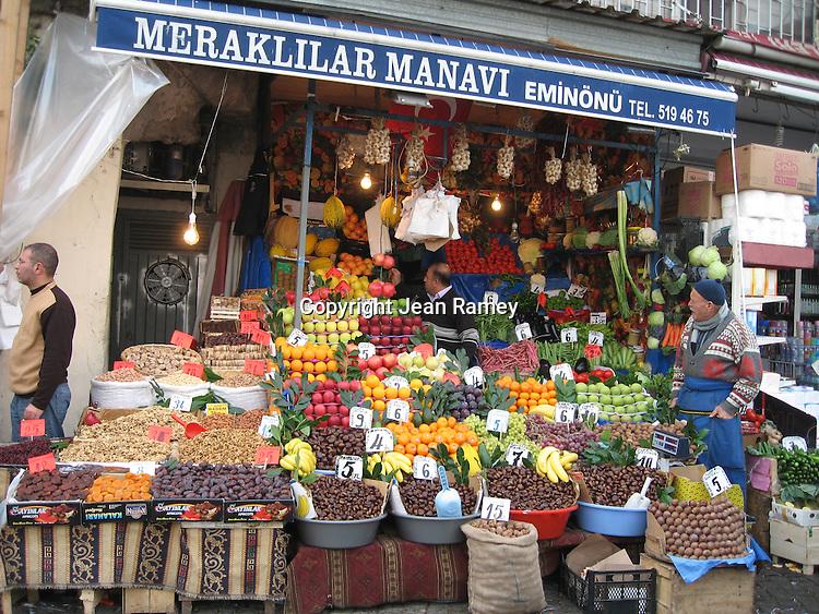 Turkish Fruit Stand