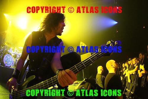 ANTHRAX, LIVE, 2013, NEIL ZLOZOWER