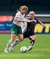 Lori Chalupny, Lisa DeVanna.  The Washington Freedom defeated the Saint Louis Athletica, 3-1.
