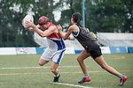 Swire Properties vs Commonwealth Bank of Australia during the Plate Final part of Swire Touch Tournament on 03 September 2016 in King's Park Sports Ground, Hong Kong, China. Photo by Marcio Machado / Power Sport Images